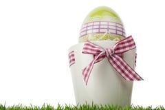 Декоративный подарок пасхального яйца Стоковое Изображение RF