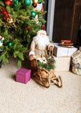 Декоративный Санта Клаус Стоковое фото RF