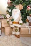 Декоративный Санта Клаус Стоковые Изображения RF