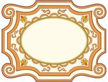 декоративный фасонируемый старый вектор знака Стоковые Фото