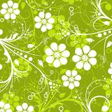 декоративный флористический вектор картины Стоковое Изображение RF