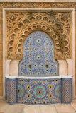 Декоративный фонтан плитки Стоковое Фото