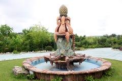 Декоративный фонтан Стоковые Изображения RF