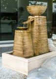 Декоративный фонтан стоковое фото