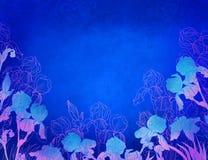декоративный цветок конструкции Стоковые Изображения