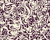 Декоративный, цветочный узор стоковое изображение