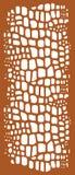 Декоративный шаблон вырезывания панели/лазера Стоковые Изображения RF