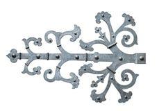 Декоративный шарнир двери стоковая фотография rf
