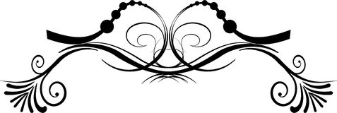 декоративный элемент Стоковое Изображение RF