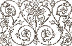 Декоративный элемент Стоковые Изображения RF