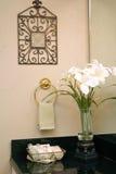 декор ванной комнаты стоковые изображения rf