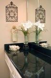 декор ванной комнаты стоковое изображение rf