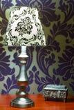 Декор интерьера спальни стоковые изображения rf