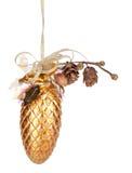 Декор конуса рождества стоковая фотография