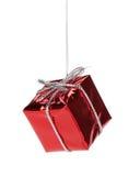 Декор коробки подарка рождества Стоковые Изображения RF