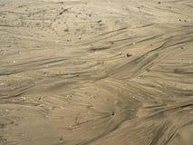 Делает по образцу текстуру песка на пляже стоковая фотография