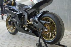 делает ямки superbike Стоковые Фотографии RF
