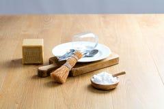 Делать ваш тензид блюда с мылом марселей и пищевой содой Стоковое Изображение RF