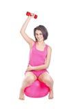 делать детенышей женщины пригодности тренировки Стоковое Фото