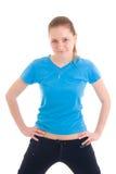 делать детенышей женщины тренировки Стоковая Фотография RF