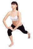 делать женщину пригодности тренировок Стоковое Изображение RF