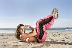 делать женщину спортов стоковая фотография rf