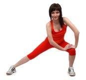 делать женщину тренировок Стоковое фото RF
