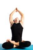 Делать йогу Стоковое фото RF