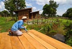 Делать крыши дома грязи Стоковая Фотография RF