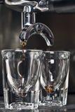 делать espresso стоковая фотография rf