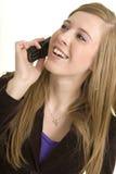 дела телефона профессиональные оглушать беседы Стоковое Изображение RF