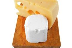 деликатность сыров доски мягкая стоковая фотография