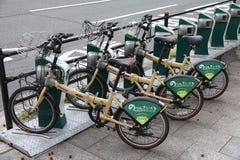 Делить велосипеда Хиросима Стоковая Фотография