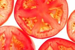 делит на сегменты томаты Стоковые Изображения