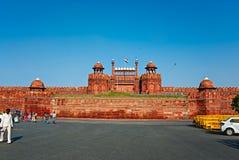 ДЕЛИ, ИНДИЯ - 18-ое сентября 2013: Красный форт на SEPT. 18, 2013 Стоковые Изображения RF