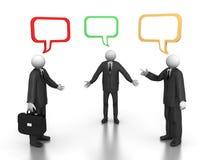 деловая беседа Стоковые Фото