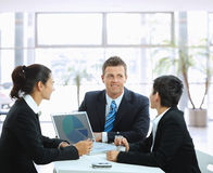 деловая встреча Стоковое Изображение RF