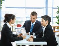 деловая встреча Стоковое Фото