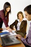 деловая встреча стоковая фотография rf