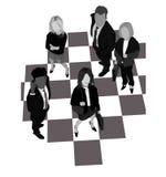 деловая игра Стоковая Фотография