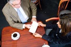 деловое письмо стоковое изображение