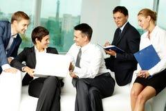 деловое сообщество Стоковая Фотография RF