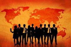 деловое сообщество Стоковые Изображения
