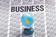 деловые новости Стоковые Фото