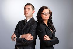 деловые партнеры 2 Стоковая Фотография RF