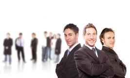 деловые партнеры стоковые изображения rf