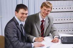 деловые партнеры стоковые изображения