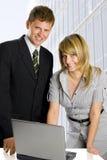 деловые партнеры Стоковое Изображение