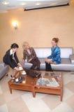 деловые переговоры Стоковое фото RF