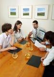 деловые переговоры Стоковое Изображение